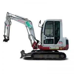 Takeuchi TB016 1 5 Ton Digger (Rock breaker ready) - ME Plant Hire